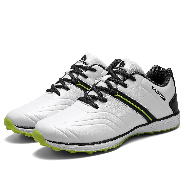 treinamento tênis anti deslizamento sapatos esportivos para golfe