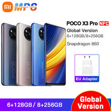 Global Version POCO X3 Pro NFC 6GB 128GB/8GB 256GB Smartphone Snapdragon 860 33W NFC Quad AI Camera 120Hz DotDisplay