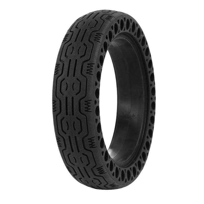 <font><b>Electric</b></font> <font><b>Scooter</b></font> Tire Vacuum for <font><b>XIAOMI</b></font> <font><b>PRO</b></font> Honeycomb Rubber Tire Explosion-proof 8.5in Solid Rubber Tire for <font><b>XIAOMI</b></font> <font><b>MIJIA</b></font> <font><b>M365</b></font> image