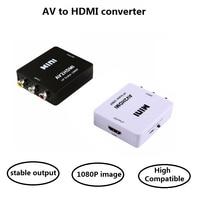 RCA AV to HDMI Converter Composite CVBS Video Adapter 720p 1080p Wii NES SNES