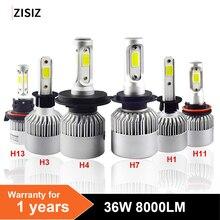 h4 led bulbs Auto S2 Car Headlight Bulbs Lamp Light H7 H1 H3 H8/H9/H11 9005 9006 H4 9004 9007 9012 880/881 h13 Styling 6000K safego motor ac 12v 55w xenon hid kit headlight bulbs h7 h11 h3 h4 h8 h9 h13 9004 9005 hb3 hb4 9006 9007 880 881 h27 6000k
