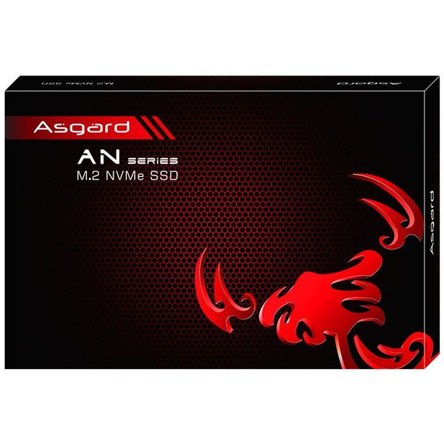 Asgard AN3 RED SERIES M.2 ssd M2 512gb PCIe NVME 512GB 1TB Solid State Drive 2280 Internal Hard Disk hdd for Laptop with cache 5