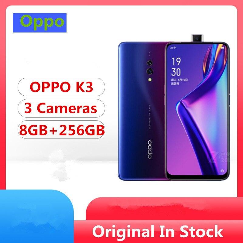 "Oppo K3 Smart Phone Snapdragon 710 Android 9.0 6.5"" AMOLED Full Screen 16.0MP+2.0MP+16.0MP Elvating Camera Screen Fingerprint|Cellphones| - AliExpress"