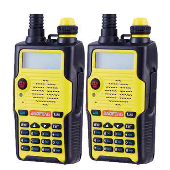 2pcs Baofeng UV-5R 5th Generation ham radio 136-174/400-520MHz  Professional FM walkie-talkie 5 colors - DISCOUNT ITEM  0% OFF All Category