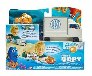 Bandai подлинный продукт Nemo 2 Счастливый плавательный рыбный грузовик набор
