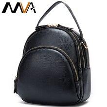 MVA Genuine Leather Backpack Women Backpack