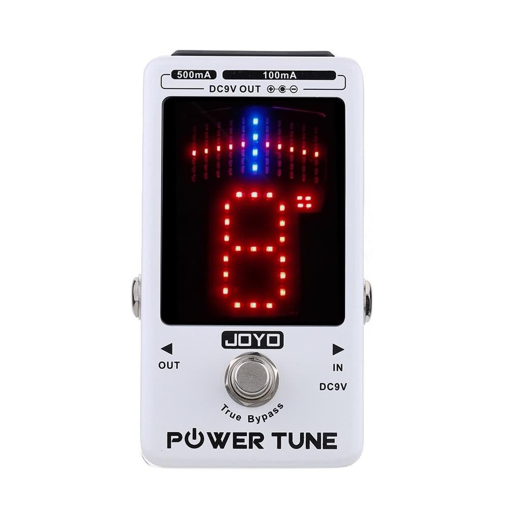 Accordeur de basse de guitare électrique de contournement de JOYO de puissance et effet de fournisseur d'alimentation multi-puissance de 8 ports