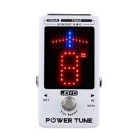 JOYO Power Tune True Bypass Electric Guitar Bass Tuner & 8 Port Multi power Power Supply Supplier Effect