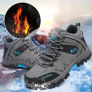 Image 5 - Yeni motosiklet botları su geçirmez erkekler kış çizmeler Moto çizmeler PU deri motosiklet ayakkabı motosiklet Biker binici çizmeleri ayak bileği ayakkabı