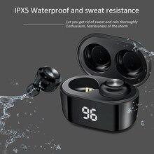A6 Tws Bluetooth 5.0 Hifi Oortelefoon Voor Xiaomi Airdots Draadloze Hoofdtelefoon Stereo Headset Mini Oordopjes Voor Android Ios Oortelefoon