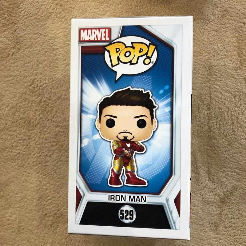 2019 NYCC Funko pop Marvel Ufficiale Esclusivo: Avengers Endgame-Tony Stark (Iron Man 3) vinyl Figure Da Collezione Model Toy