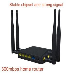 Image 1 - 300mbps אלחוטי נתב עם 4 חיצוני אנטנה בית נתב קל להתקין נקודת גישת wifi נתב עם חריץ כרטיס ה sim