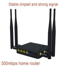 300mbps wireless router 4 เสาอากาศภายนอก home router ติดตั้งง่าย access point wifi router กับซิมการ์ดสล็อต
