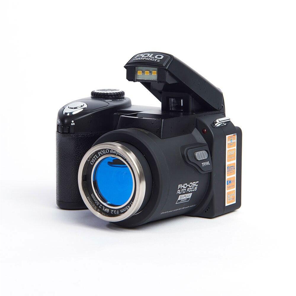 POLO D7200 цифровая камера 33MP с автофокусом профессиональная DSLR камера телеобъектив широкоугольный объектив Appareil фото сумка штатив