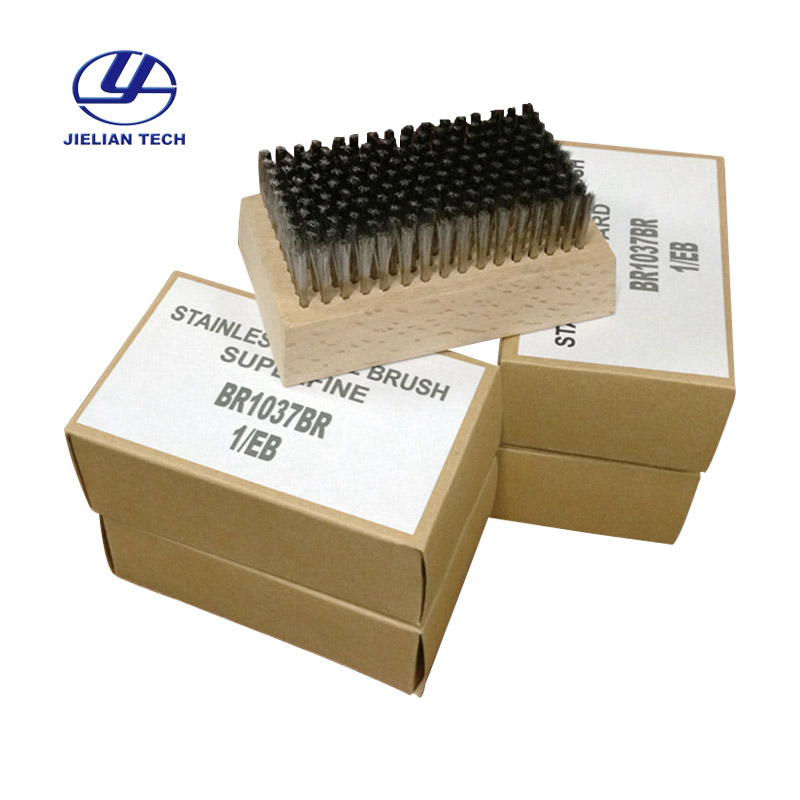 Stainless Steel Wire Brush For Ceramic Anilox Roller Cleaning 0.127mm