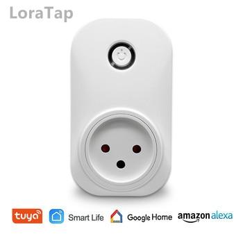 цена на Tuya Smart Life Wifi Socket Israel Plug 16A App Remot Control Voice Control with Google Home Alexa Echo Timer the Devices
