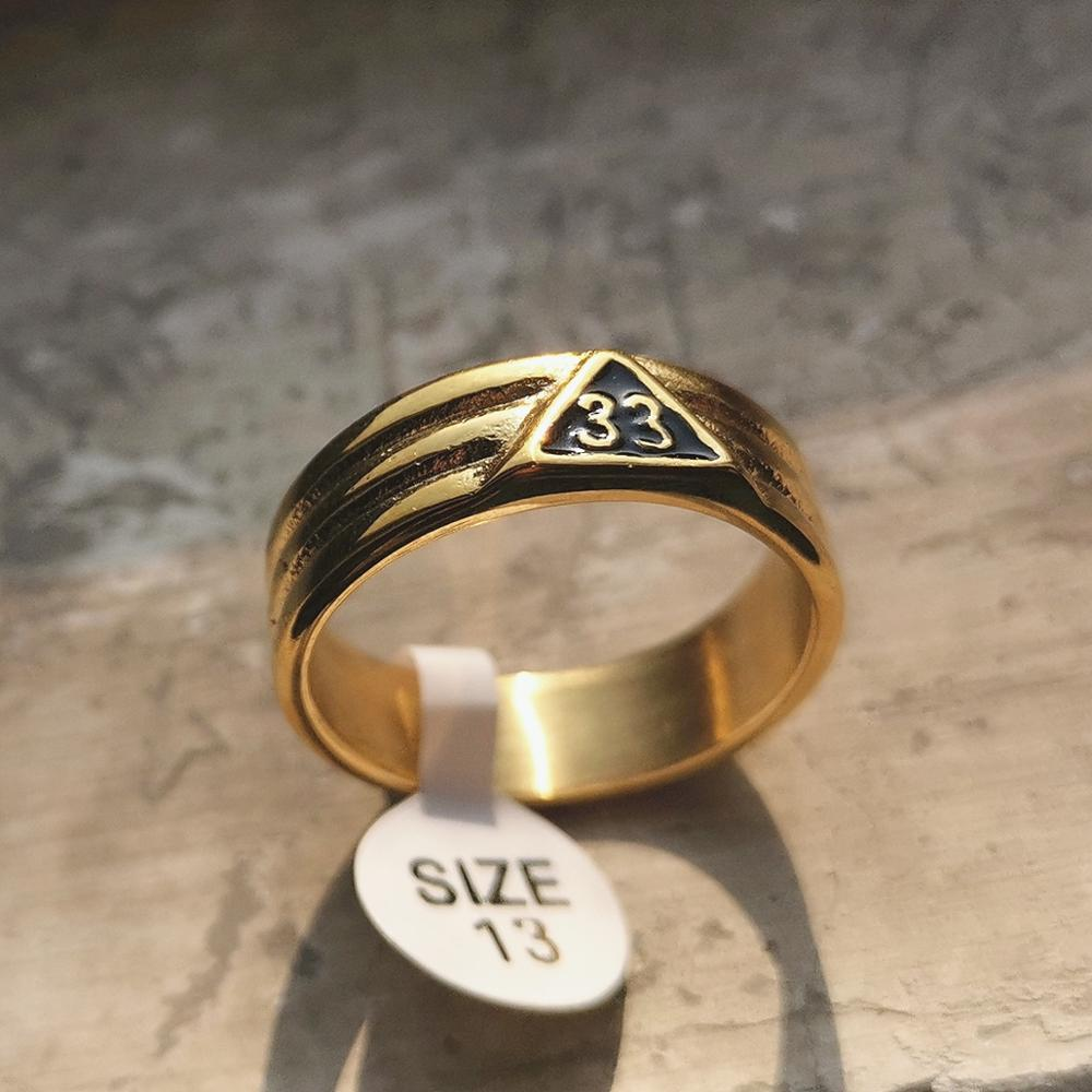Classic 33rd Degree Scottish Rite Ring