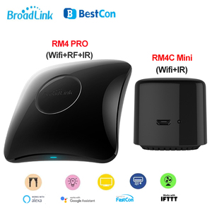 Image 1 - 2020 Broadlink RM4, Broadlink RM4 PRO, RM4C Mini Smart Remote Host WIFI IR RF Universal Fernbedienung Arbeit mit Alexa Google