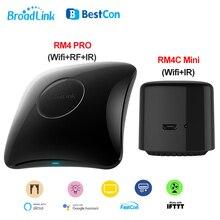 Broadlink RM4 PRO, RM4C, Mini télécommande universelle pour maison connectée, wi fi, IR RF, pour maison connectée, 2020, fonctionne avec Alexa et Google