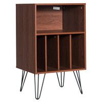 GIANTEX Wooden End Table Free Standing Display Storage Bookshelf File Cabinet bedroom furniture HW63116