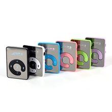 Новая большая рекламная акция, зеркальный портативный MP3 плеер, мини MP3-плеер с зажимом, водонепроницаемый спортивный MP3 музыкальный плеер walkman lettore MP3