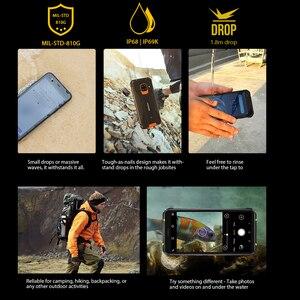 Image 2 - Blackview – Smartphone BV5100, Version globale, 4 go + 64 go, étanchéité IP68, téléphone robuste, 5580mAh, 5.7 pouces, Android 10, NFC, 16mp