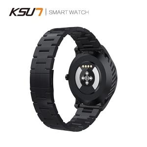 Image 5 - KSR909 Smart Watch Full Screen Touch IP68 Waterproof ECG Detection Changeable Dials Smartwatch Fitness Tracker Smart Bracelet