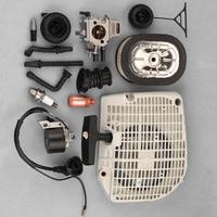 Carburetor Handle Plate Ignition Coil Engine Kit For Stihl 064 066 MS640 650 660 Hot Sale Yard Garden Supply