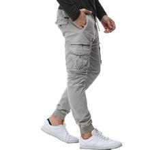 2020 メンズ迷彩タクティカルカーゴパンツ男性ジョギングブースト軍事カジュアルコットンパンツヒップホップリボン男性軍のズボン 38