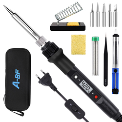 A-BF 836D Electric Soldering Iron Digital Display Temperature Control 60W Precision Technology Rapid Temperature Rise 180℃~480℃