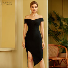 Adyce 2021 Новое Женское летнее Бандажное платье с открытыми