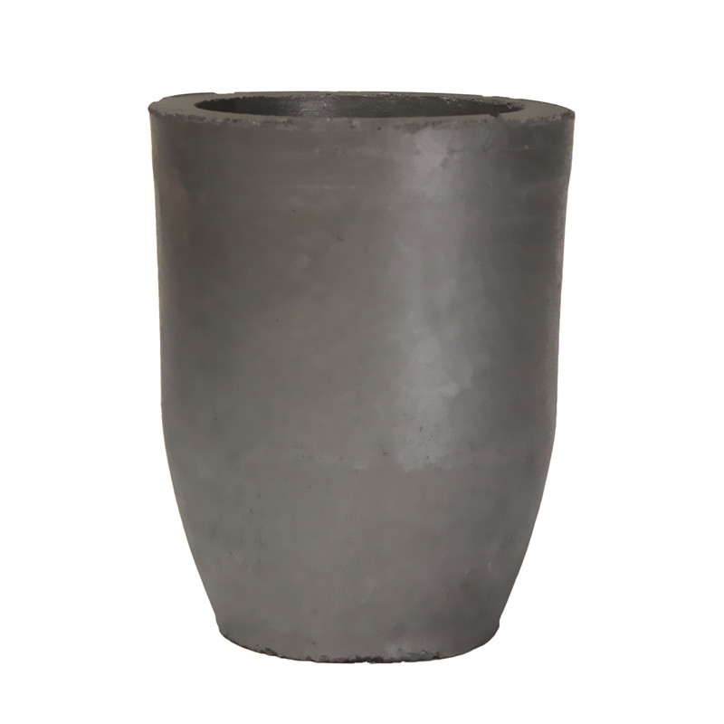 14 X12cmcm 5kg Casting Clay Graphite Crucibles Refining Melting Copper Aluminium Brass Bulk