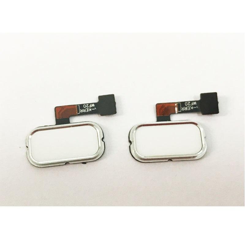 10 pcs Replacement Parts  For Asus Zenfone 3 ZE520KL ZE552KL Home Button Fingerprint Sensor Button Flex Cable