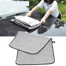 Mikrofiber havlu araba yıkama bezi otomatik temizleme kapı pencere bakım kalın güçlü su emme araba ev için otomobil aksesuarları