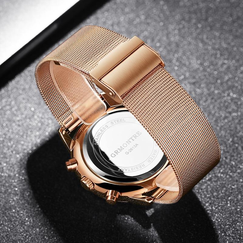 H3256d3fe8dea4a47a6c871b4ff5db76dC Watch Chronograph Army Military Quartz Watches GRMONTRE