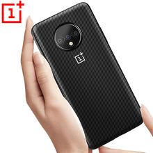 Oneplus 7 Pro Case Cover Oneplus 7T Pro 6T 6 5T 5 7 Carbon Fiber Texture Leather Back Case One Plus 6T 7T 6 5 full back capa yttoo yellow 7t