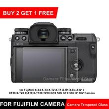 富士XT4 XT3 XE4 XS10カメラ強化ガラススクリーンプロテクター富士フイルムX T4 X T3 X T2 X T1 X H1 X E4 X S10保護フィルム