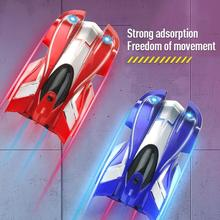2019 Newest RC Wall Climbing Car Toy Remote Control Anti Gravity Ceiling Racing Car Electric Toys Machine Auto RC Car for Kids
