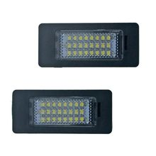 Good New 2Pcs Error Free 18SMD Car LED Number License Plate Light lamp OEM Replacement Fit for Audi A4 B8 A5 Q5 S5 TT S4 Quattro