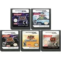 DS oyun kartuşu konsolu kart yYu Gi Oh! Serisi İngilizce dil Nintendo DS için 3DS 2DS