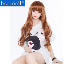 Hanidoll Japanese Silicone Sex Dolls 158cm Real Doll Fetish Men TPE Love Realistic Ass Vagina Breast Toy for