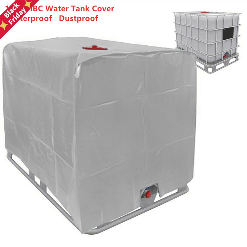 1000 liters ibc Water Tank Protective Cover Outdoor Garden Yard Rain Container Waterproof Dustproof Sun Protection Foil Covers