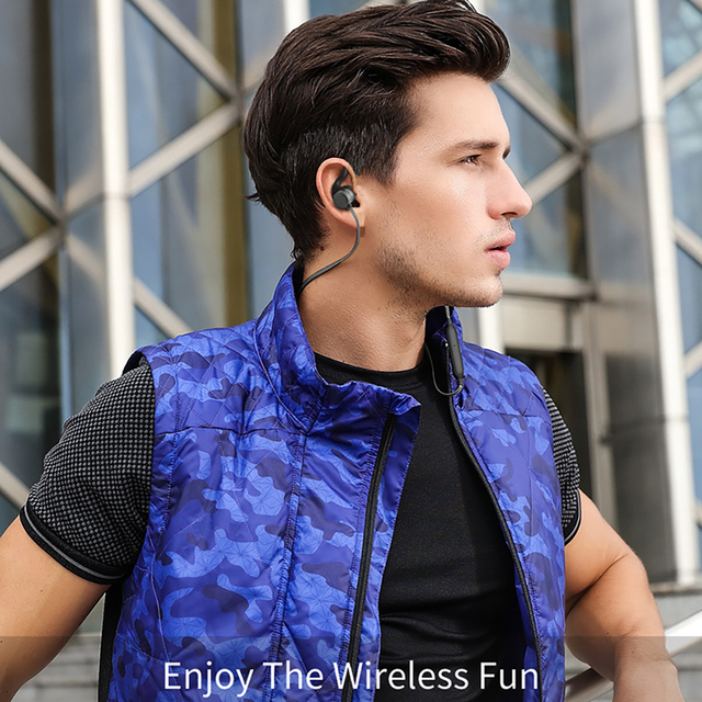 Awei AK7 Sport Earphone CVC 6.0 Cancelling Neckband Headphone Bluetooth 4.1 Magnetic Control 4