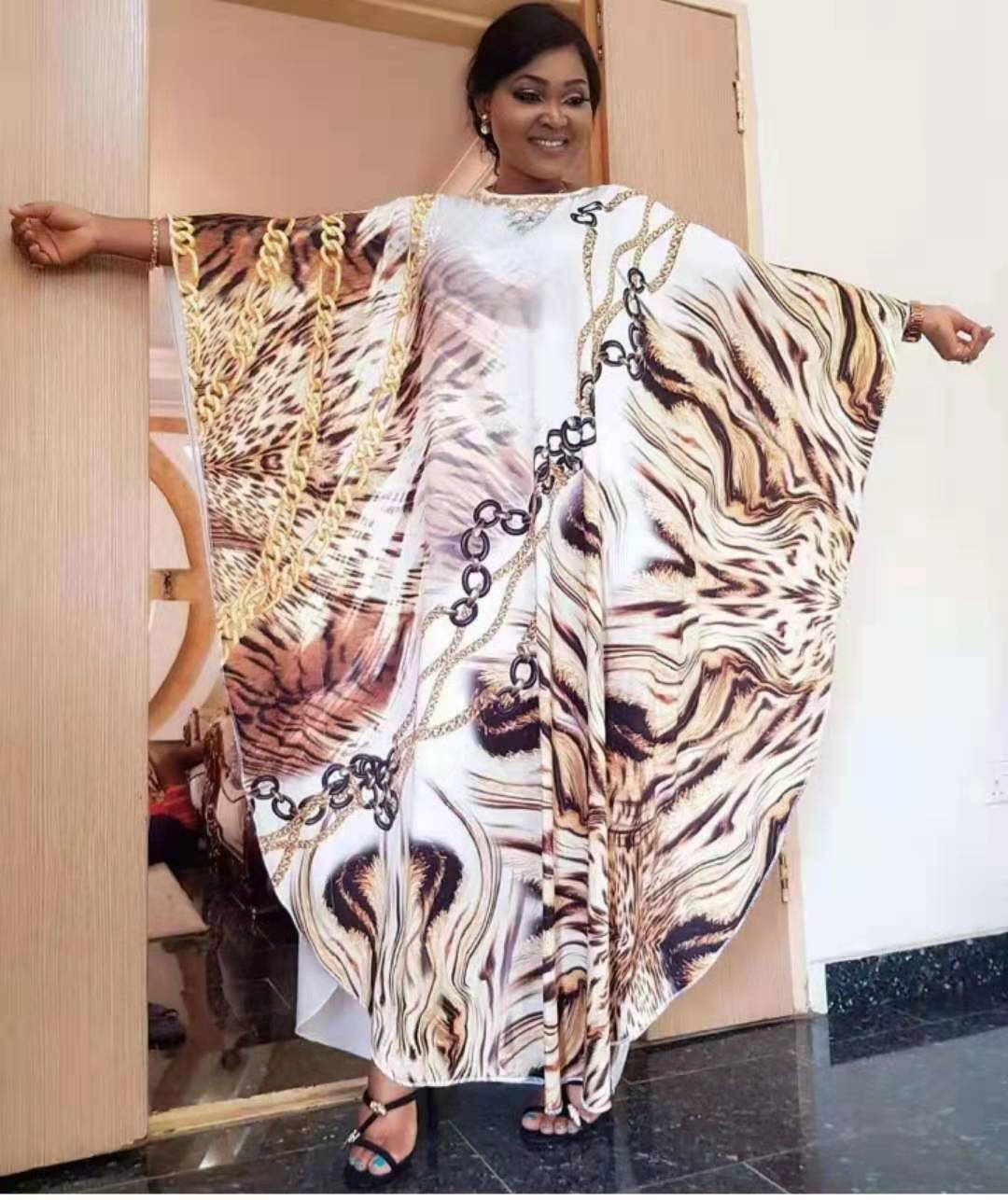 2019 African Dresses Dresses Women Clothing  Special Offer  Africa Printing Nightclub Clothes