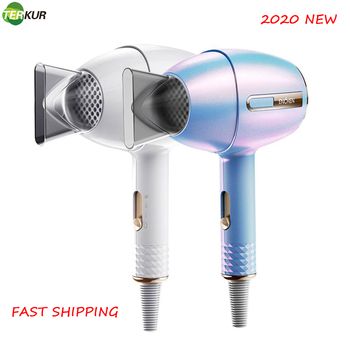 Anion Hair Dryer 1200W 220V Zero Radiation Professional Dryers Hair Styling Tools Hot/Cold Air Blow Dryer 3 Speed Adjustment kemei km 6830 portable mini hair dryer low noise evenly hot wind collapsible travel hair dryers 220v compact hair dryer 1200w
