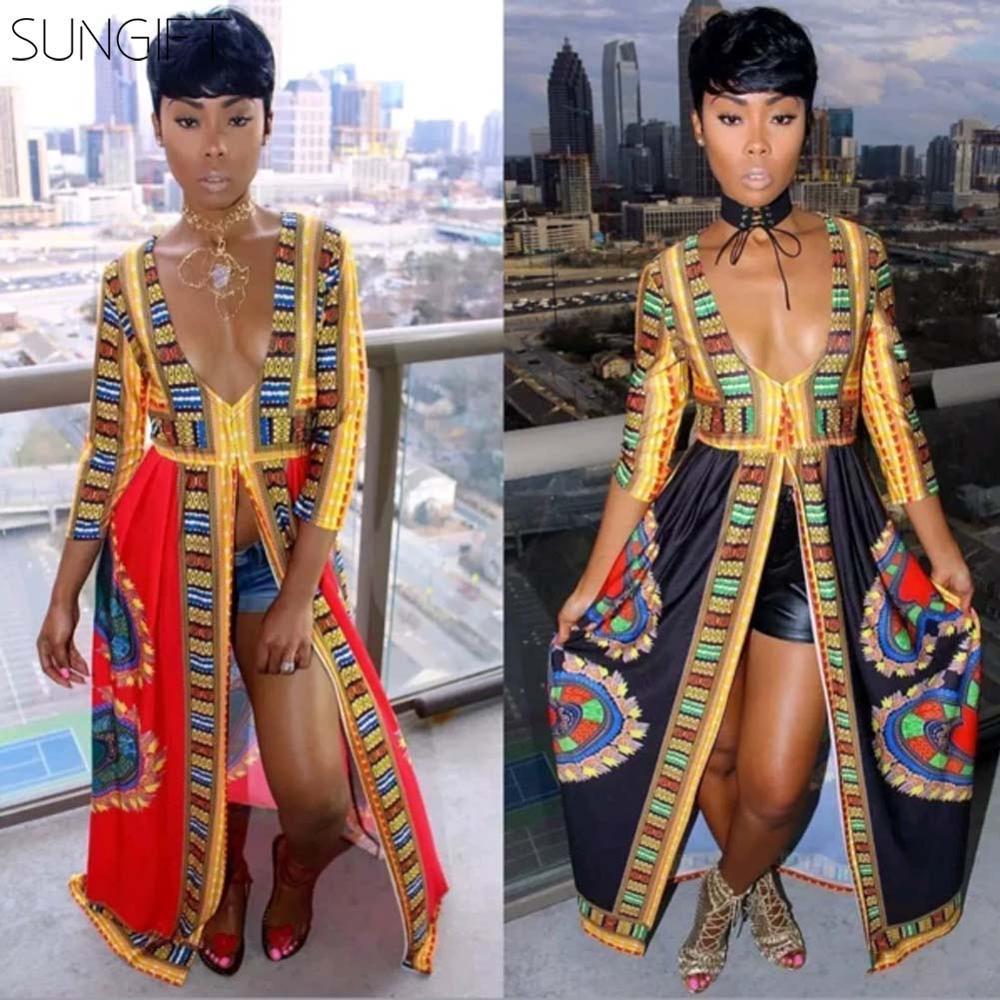 SUNGIFT African Stylish Dress…