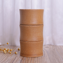 Jar Storage-Bottles Organizer Case Sealing-Box Tea-Container Canister Cans Spice Bamboo