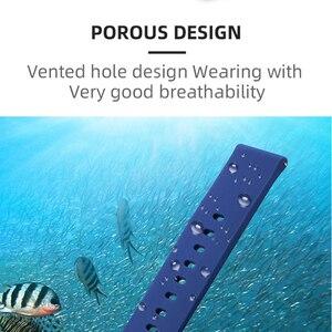 Image 4 - BOORUI pasek silikonowy do huami Amazfit Bip tempo Lite bransoleta ze smartwatchem akcesoria do inteligentnego zegarka z modnymi kolorami