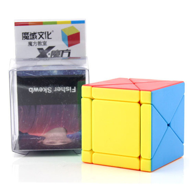 Moyu Fisher Skew Cube X-cube 3x3x3 Cubo Magico Puzzles For Adults Games Education Toy Antistress Toys For Children Strange Shape 1