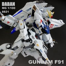 DABAN 8821 MG 1/100 MB F91 Gundam Mobile Suit Assemble Model Kits Action Figures Plastic Model Toys